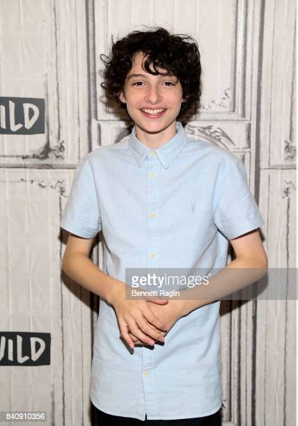 Actor Finn Wolfhard attends Build to discusss the movie 'IT' at Build Studio on August 30 2017 in New York City