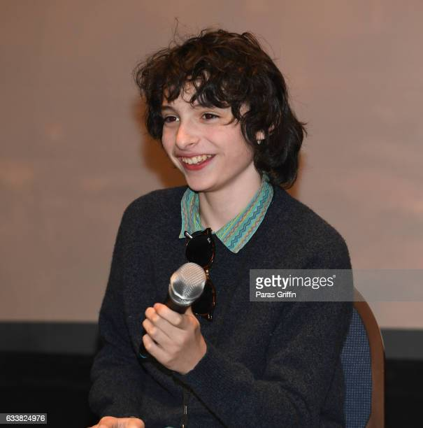 Actor Finn Wolfhard attends 'Stranger Things' panel during the 2017 Days Of The Dead at Sheraton Hotel on February 4 2017 in Atlanta Georgia