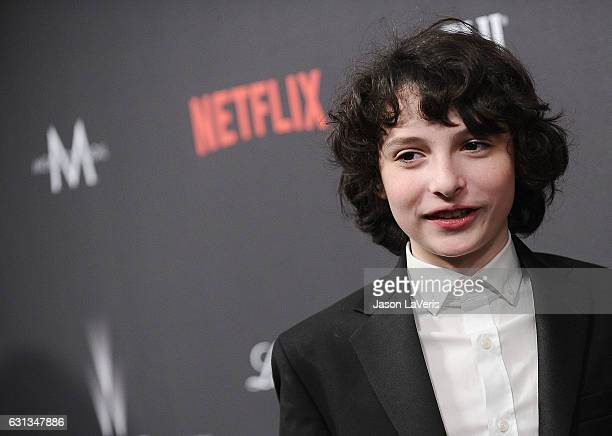 Actor Finn Wolfhard attends the 2017 Weinstein Company and Netflix Golden Globes after party on January 8 2017 in Los Angeles California
