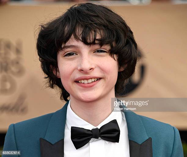 Actor Finn Wolfhard attends The 23rd Annual Screen Actors Guild Awards at The Shrine Auditorium on January 29 2017 in Los Angeles California 26592_008