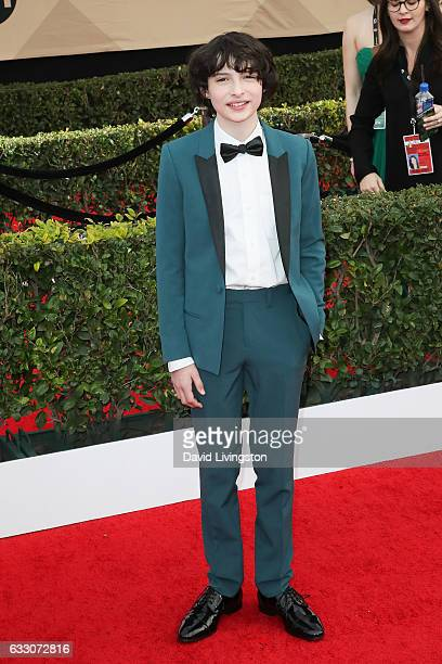 Actor Finn Wolfhard attends the 23rd Annual Screen Actors Guild Awards at The Shrine Expo Hall on January 29 2017 in Los Angeles California