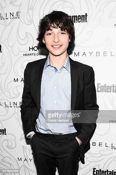 Actor Finn Wolfhard attends the Entertainment Weekly Celebration of SAG Award Nominees sponsored by Maybelline New York at Chateau Marmont on January...