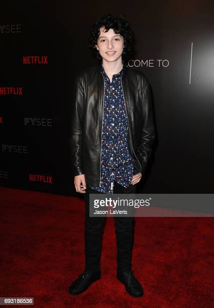 Actor Finn Wolfhard attends the 'Stranger Things' FYC event at Netflix FYSee Space on June 6 2017 in Beverly Hills California