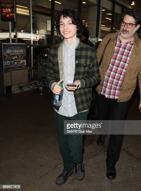 Actor Finn Wolfhard is seen on November 3 2017 in Los Angeles CA