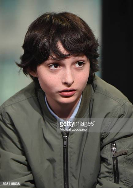 Actor Finn Wolfhard of 'Stranger Things' attends the BUILD Series at AOL HQ on August 31 2016 in New York City