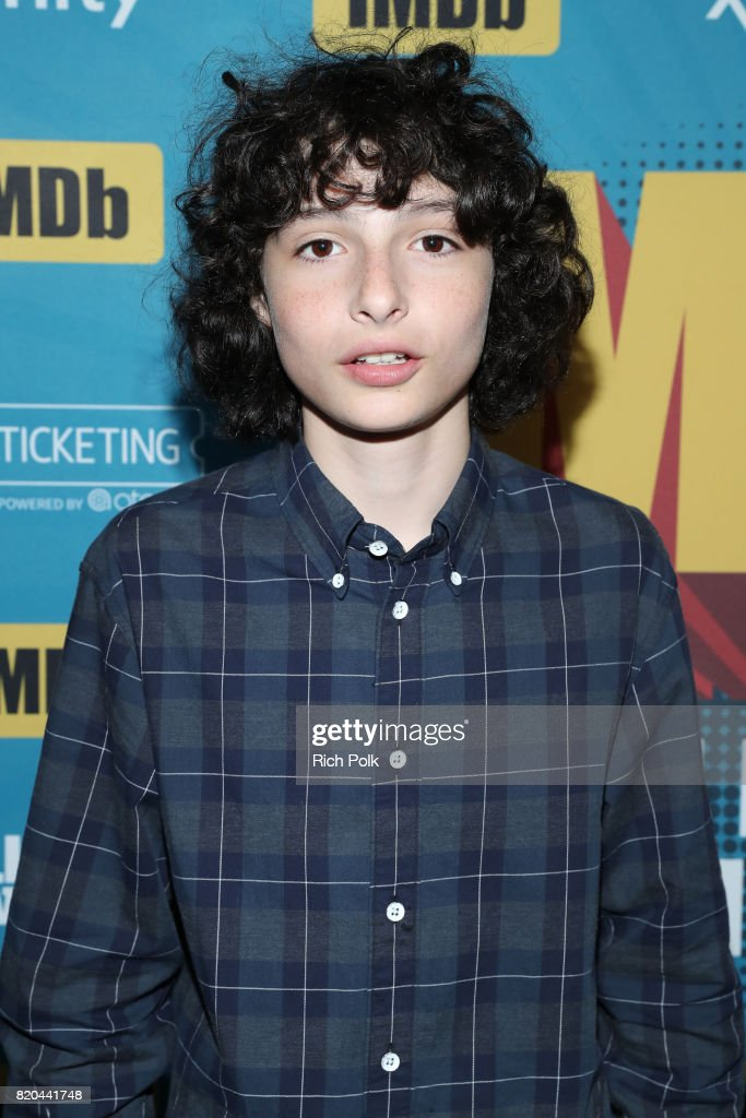 Actor Finn Wolfhard on the #IMDboat at San Diego Comic-Con 2017 at The IMDb Yacht on July 21, 2017 in San Diego, California.