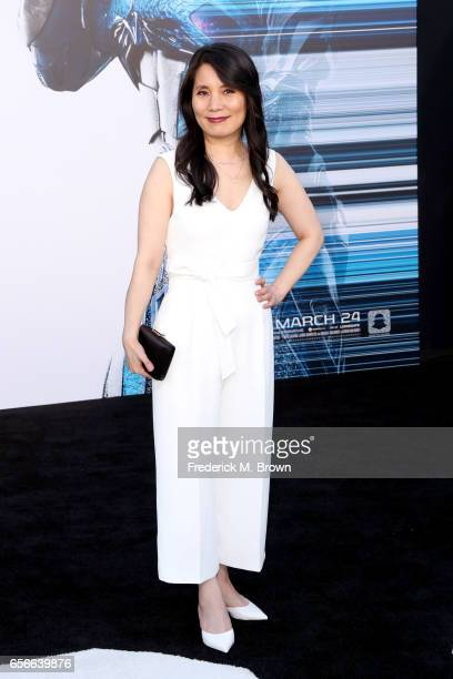 Actor Fiona Fu at the premiere of Lionsgate's 'Power Rangers' on March 22 2017 in Westwood California
