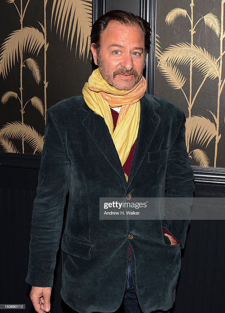 Actor <a gi-track='captionPersonalityLinkClicked' href=/galleries/search?phrase=Fisher+Stevens&family=editorial&specificpeople=206958 ng-click='$event.stopPropagation()'>Fisher Stevens</a> attends The Cinema Society and CBS Films screening of 'Seven Psychopaths' After Party at No. 8 on October 10, 2012 in New York City.