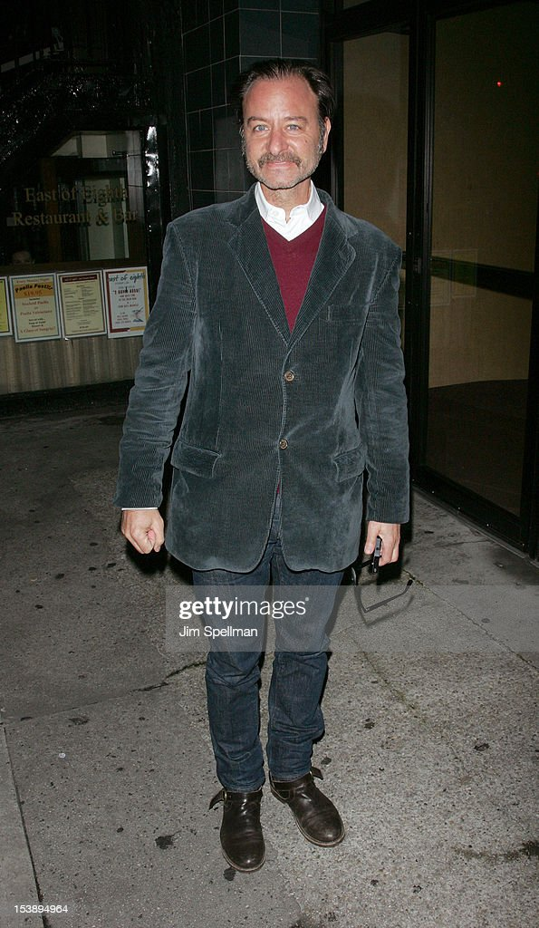 Actor Fisher Stevens attends The Cinema Society with Hugo Boss and Appleton Estate screening of 'Seven Psychopaths' at Clearview Chelsea Cinemas on October 10, 2012 in New York City.