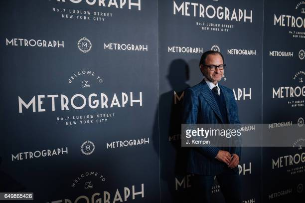 Actor Fisher Stevens attends the Metrograph 1st year anniversary party at Metrograph on March 8 2017 in New York City