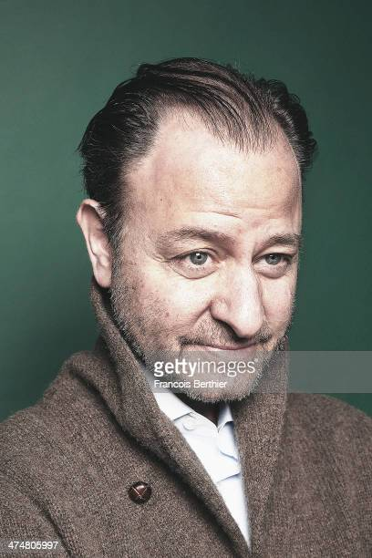 Actor Fisher Stevens is photographed for Self Assignment on February 10 2014 in Berlin Germany
