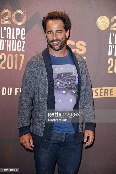 Actor Florent Peyre attends 'L'Ascension' photocall during tne 20th L'Alpe D'Huez International Film Festival on January 18 2017 in Alpe d'Huez France