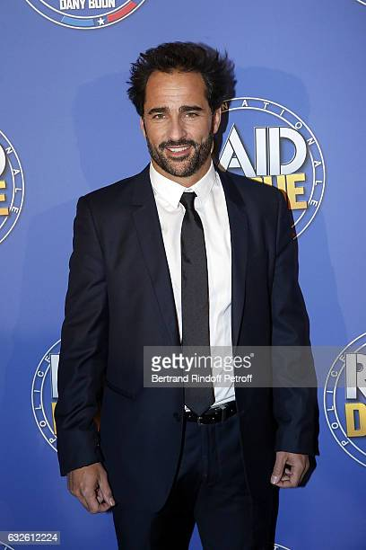 Actor Florent Peyre attends 'Raid Dingue' Paris Premiere at Cinema Pathe Beaugrenelle on January 24 2017 in Paris France