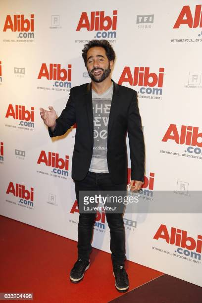 Actor Florent Peyre attends the 'Alibicom' Paris Premiere at Cinema Gaumont Opera on January 31 2017 in Paris France
