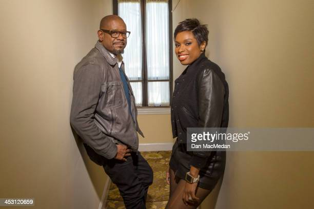 Actor Forest Whitaker and Jennifer Hudson are photographed for USA Today on November 1 2013 in Beverly Hills California