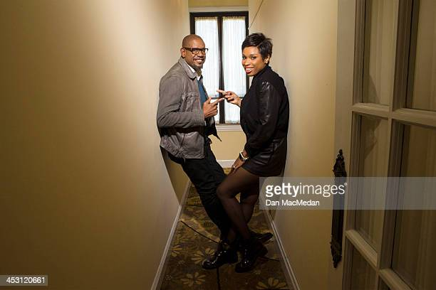Actor Forest Whitaker and Jennifer Hudson are photographed for USA Today on November 1 2013 in Beverly Hills California PUBLISHED IMAGE