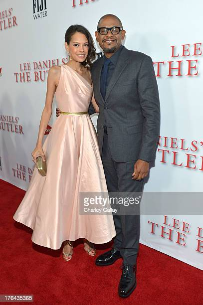 Actor Forest Whitaker and Keisha Nash Whitaker attend LEE DANIELS' THE BUTLER Los Angeles premiere hosted by TWC Budweiser and FIJI Water Purity...