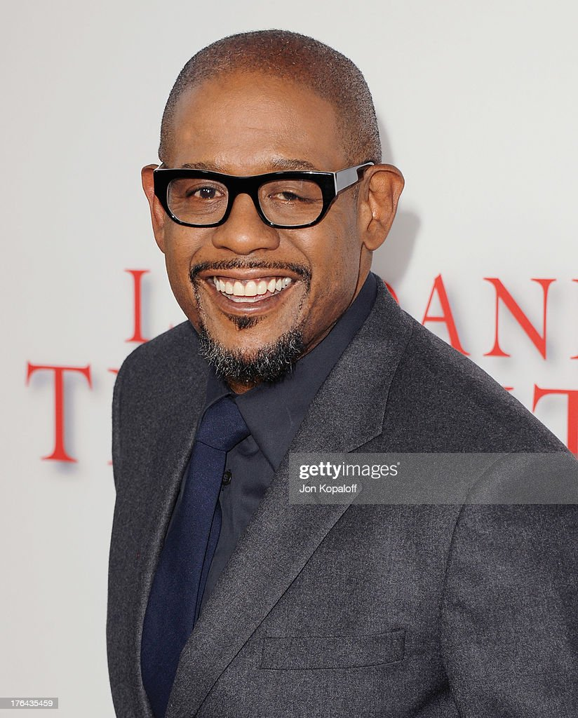 Actor <a gi-track='captionPersonalityLinkClicked' href=/galleries/search?phrase=Forest+Whitaker&family=editorial&specificpeople=226590 ng-click='$event.stopPropagation()'>Forest Whitaker</a> arrives at the Los Angeles Premiere 'Lee Daniels' The Butler' at Regal Cinemas L.A. Live on August 12, 2013 in Los Angeles, California.