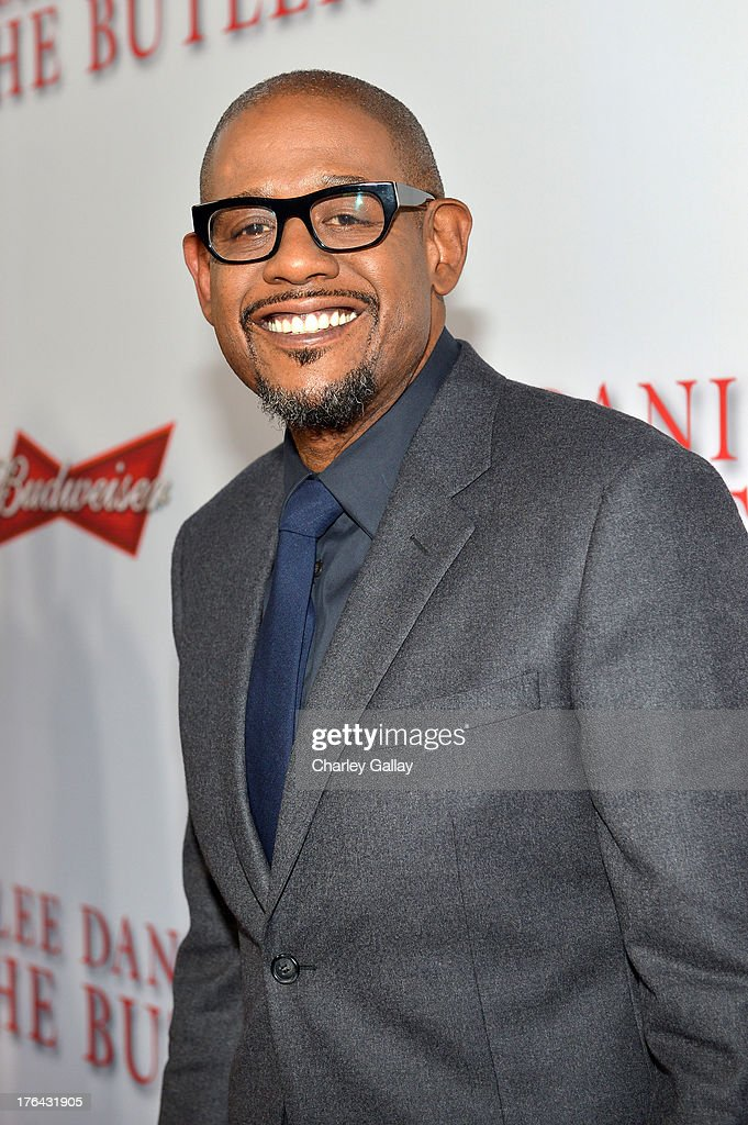 Actor Forest Whitaker attends LEE DANIELS' THE BUTLER Los Angeles premiere, hosted by TWC, Budweiser and FIJI Water, Purity Vodka and Stack Wines, held at Regal Cinemas L.A. Live on August 12, 2013 in Los Angeles, California.