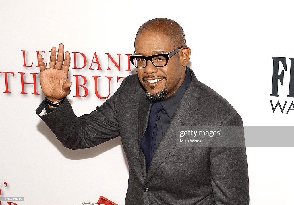 Actor <a gi-track='captionPersonalityLinkClicked' href=/galleries/search?phrase=Forest+Whitaker&family=editorial&specificpeople=226590 ng-click='$event.stopPropagation()'>Forest Whitaker</a> attends LEE DANIELS' THE BUTLER Los Angeles premiere, hosted by TWC, Budweiser and FIJI Water, Purity Vodka and Stack Wines, held at Regal Cinemas L.A. Live on August 12, 2013 in Los Angeles, California.