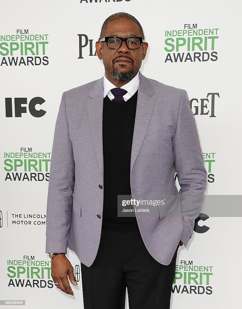 Actor <a gi-track='captionPersonalityLinkClicked' href=/galleries/search?phrase=Forest+Whitaker&family=editorial&specificpeople=226590 ng-click='$event.stopPropagation()'>Forest Whitaker</a> attends the 2014 Film Independent Spirit Awards on March 1, 2014 in Santa Monica, California.