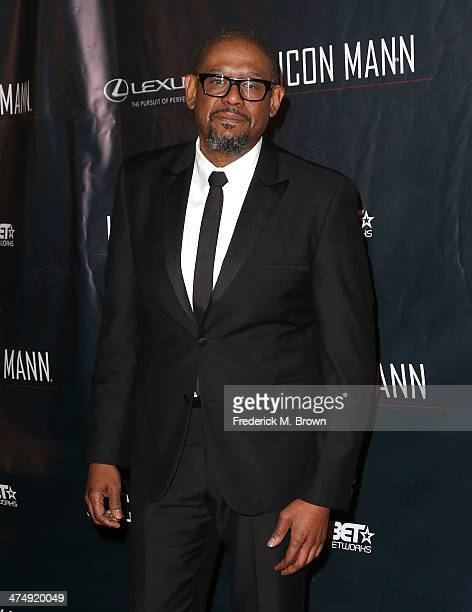 Actor Forest Whitaker attends the ICON MANN Second Annual POWER 50 PreOscar Dinner at The Peninsula Hotel on February 25 2014 in Beverly Hills...