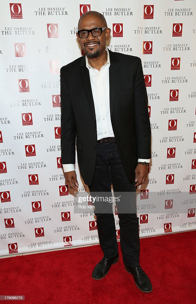 Actor <a gi-track='captionPersonalityLinkClicked' href=/galleries/search?phrase=Forest+Whitaker&family=editorial&specificpeople=226590 ng-click='$event.stopPropagation()'>Forest Whitaker</a> attends the O, The Oprah Magazine's special advance screening of 'Lee Daniels' The Butler' at The Hearst Tower on July 31, 2013 in New York City.