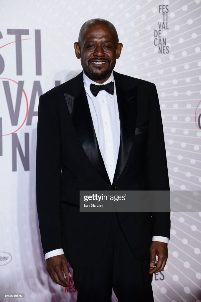 Actor Forest Whitaker attends the Palme D'Or Winners dinner during The 66th Annual Cannes Film Festival at Agora on May 26, 2013 in Cannes, France.