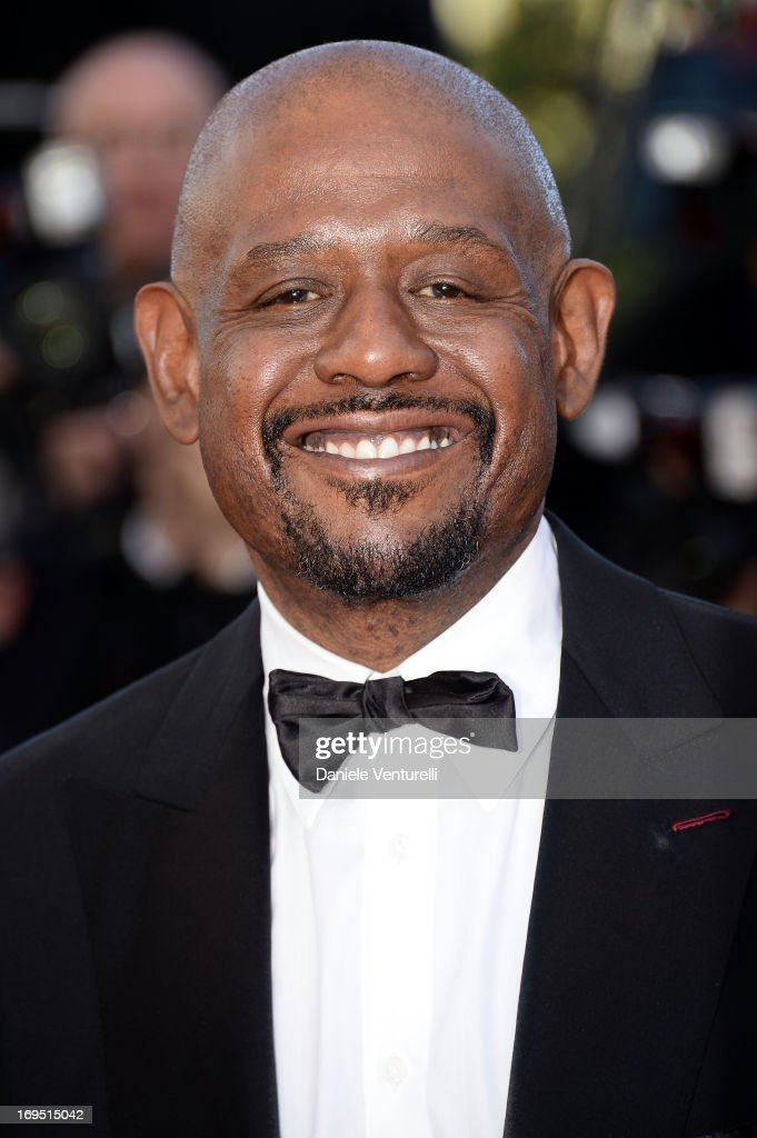 Actor <a gi-track='captionPersonalityLinkClicked' href=/galleries/search?phrase=Forest+Whitaker&family=editorial&specificpeople=226590 ng-click='$event.stopPropagation()'>Forest Whitaker</a> attends the Premiere of 'Zulu' and the Closing Ceremony of The 66th Annual Cannes Film Festival at Palais des Festivals on May 26, 2013 in Cannes, France.