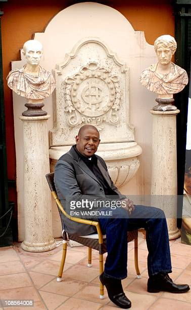 S actor Forest Whitaker in Rome for the presentation of the film 'The Last King Of Scotland' Forest Whitaker is in the lead to win the best actor...