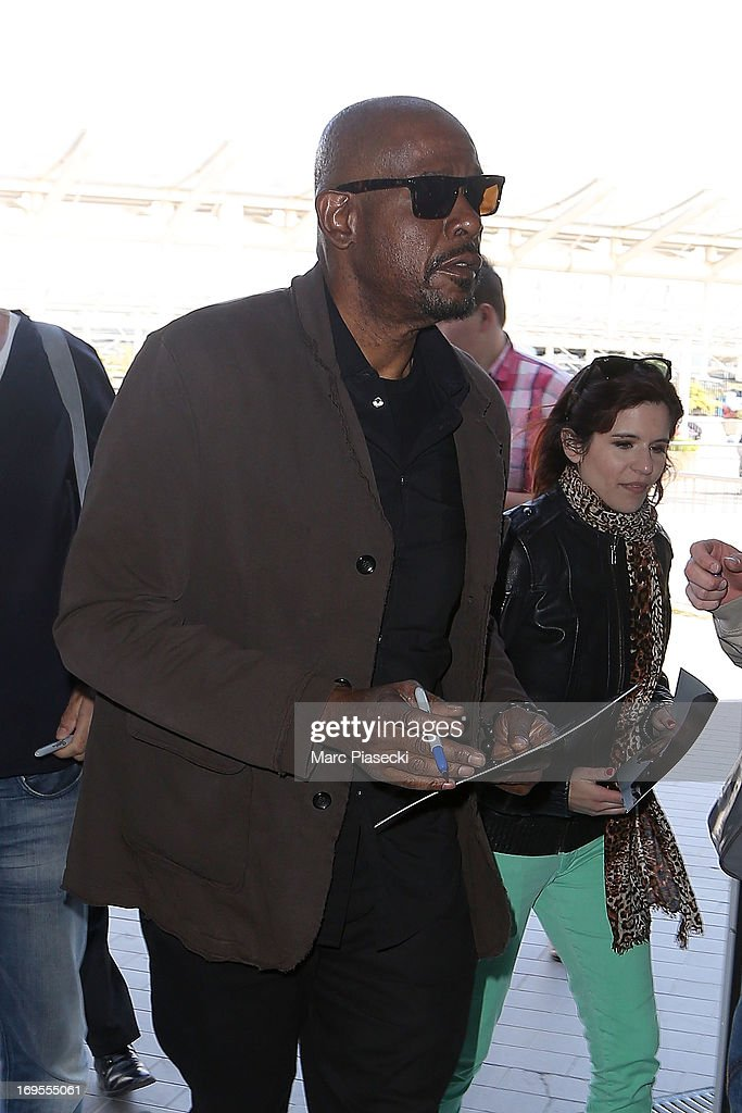 Actor Forest Whitaker is sighted at Nice airport after the 66th Annual Cannes Film Festival on May 27, 2013 in Nice, France.