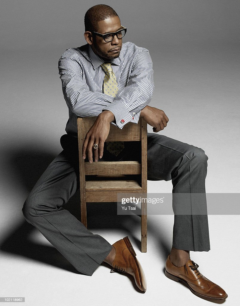Actor Forest Whitaker poses at a portrait session for New York Moves, in Los Angeles, CA on April 1, 2010. COVER IMAGE. (Photo by Yu Tsai/ Contour by Getty Images).