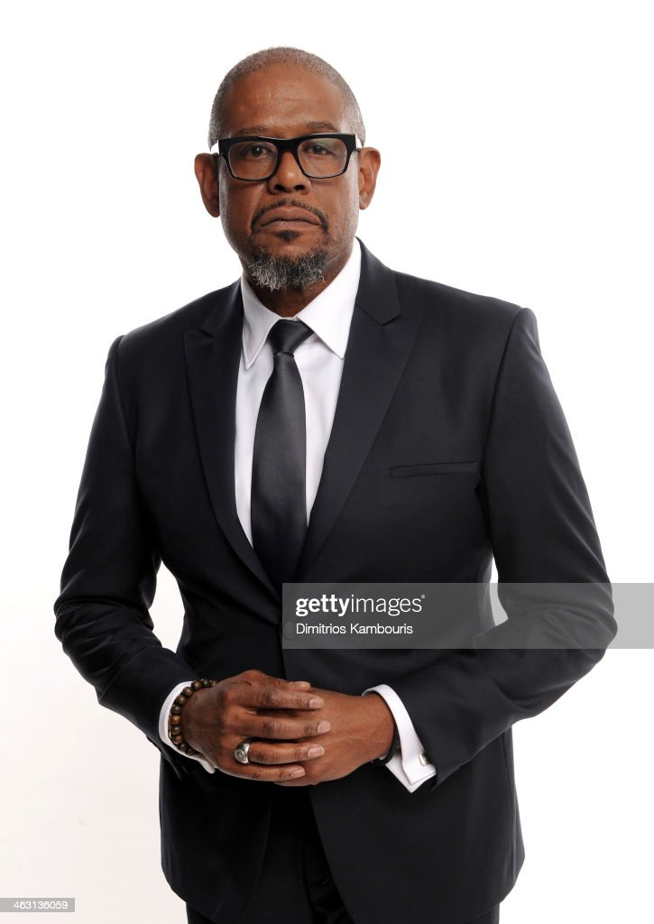 Actor <a gi-track='captionPersonalityLinkClicked' href=/galleries/search?phrase=Forest+Whitaker&family=editorial&specificpeople=226590 ng-click='$event.stopPropagation()'>Forest Whitaker</a> poses for a portrait during the 19th Annual Critics' Choice Movie Awards at Barker Hangar on January 16, 2014 in Santa Monica, California.