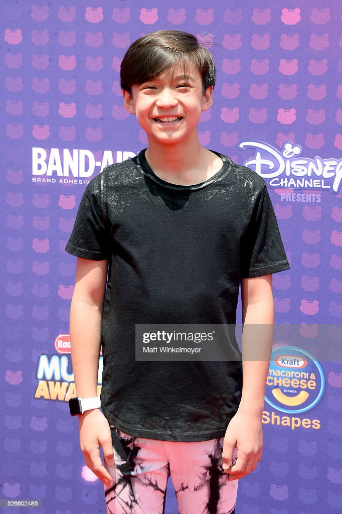 Actor Forrest Wheeler attends the 2016 Radio Disney Music Awards at Microsoft Theater on April 30, 2016 in Los Angeles, California.