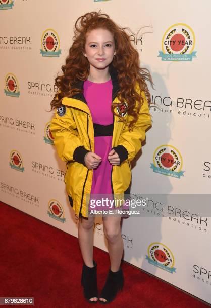 Actor Francesca Capaldi attends City Year Los Angeles Spring Break on May 6 2017 in Los Angeles California