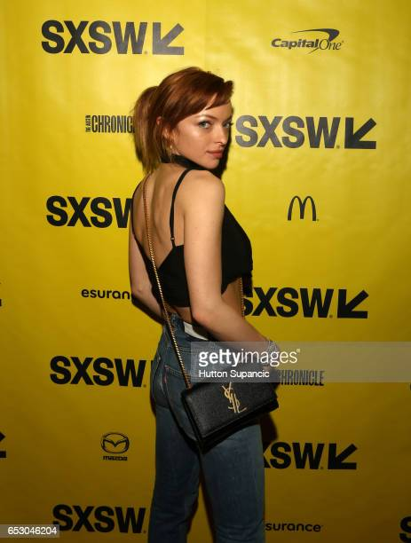 Actor Francesca Eastwood attends the premiere of 'MFA' during 2017 SXSW Conference and Festivals at Stateside Theater on March 13 2017 in Austin Texas