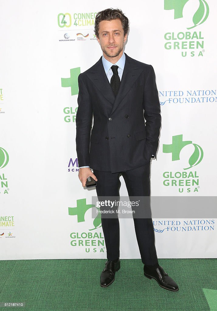 Actor Francesco Carrozzini attends the Global Green USA's 13th Annual PreOscar Party at the Mr C Beverly Hills Hotel on February 24 2016 in Beverly...