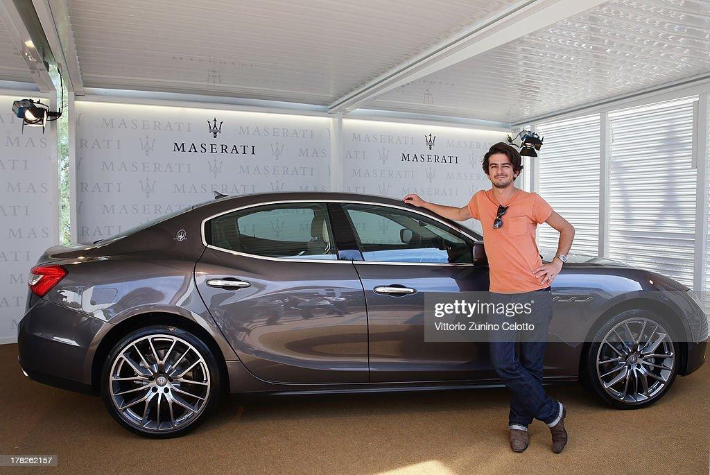 Actor Francesco Mandelli attends the 70th Venice International Film Festival at Terrazza Maserati on August 28, 2013 in Venice, Italy.