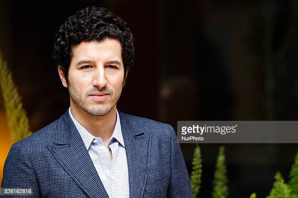 actor Francesco Scianna attends 'Fasten your Seatbelts' photocall in Rome Visconti Palace