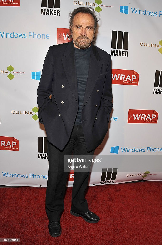 Actor <a gi-track='captionPersonalityLinkClicked' href=/galleries/search?phrase=Franco+Nero&family=editorial&specificpeople=803339 ng-click='$event.stopPropagation()'>Franco Nero</a> arrives at TheWrap 4th Annual Pre-Oscar Party at Four Seasons Hotel Los Angeles at Beverly Hills on February 20, 2013 in Beverly Hills, California.