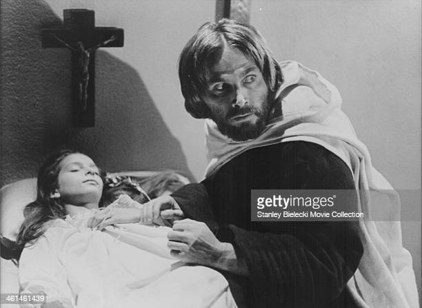 Actor Franco Nero stars in the film 'Le Moine' aka 'The Monk' based on the gothic novel by Matthew Lewis 1972