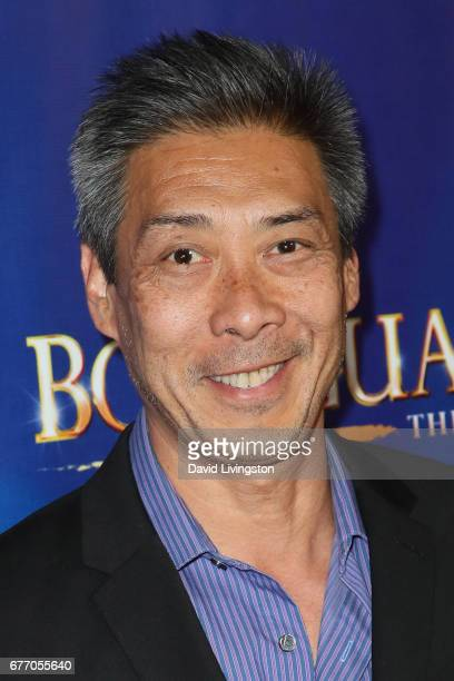 Actor Francois Chau arrives at the premiere of 'The Bodyguard' at the Pantages Theatre on May 2 2017 in Hollywood California