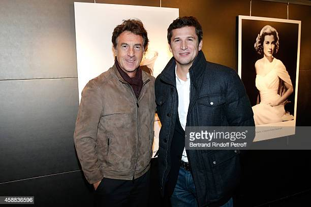 Actor Francois Cluzet and actor of the movie Guillaume Canet attend the 'La prochaine fois je viserai le coeur' Paris Premiere at UGC Cine Cite Bercy...