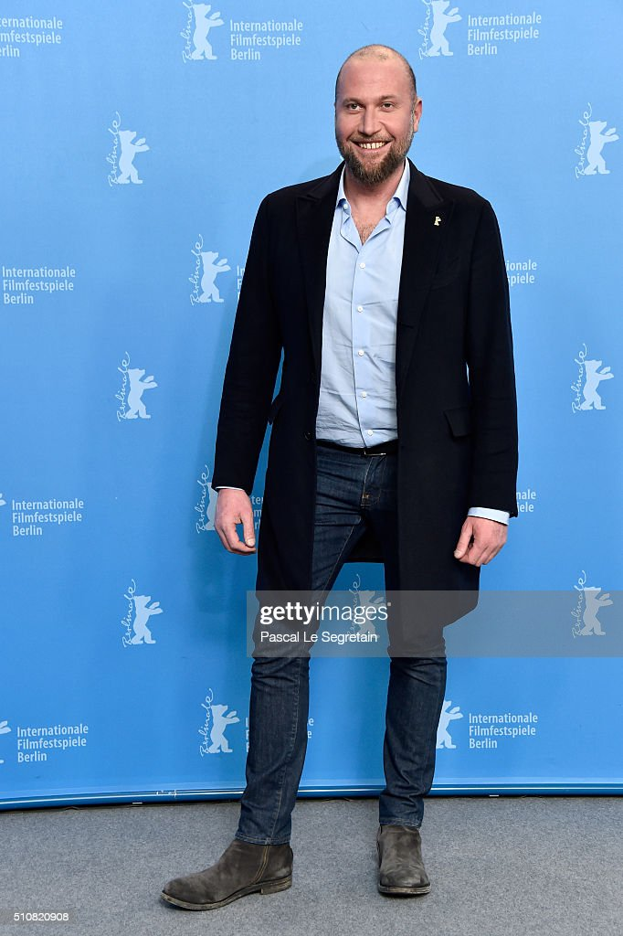 Actor Francois Damiens attends the 'News from Planet Mars' (Des nouvelles de la planete Mars) photo call during the 66th Berlinale International Film Festival Berlin at Grand Hyatt Hotel on February 17, 2016 in Berlin, Germany.