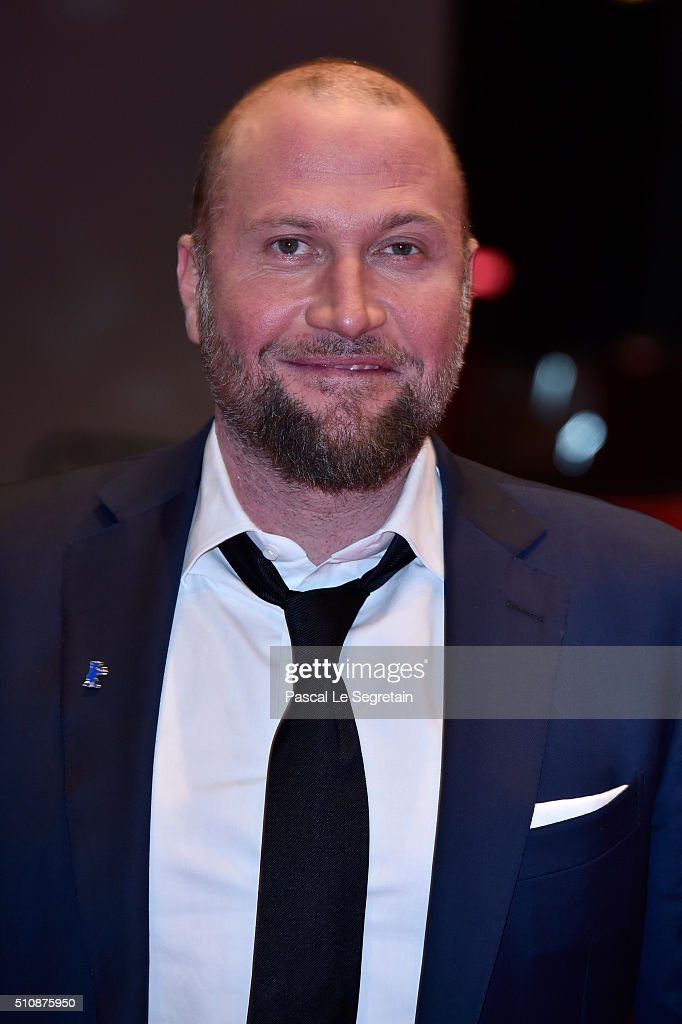 Actor Francois Damiens attends the 'News from Planet Mars' (Des nouvelles de la planete Mars) premiere during the 66th Berlinale International Film Festival Berlin at Berlinale Palace on February 17, 2016 in Berlin, Germany.