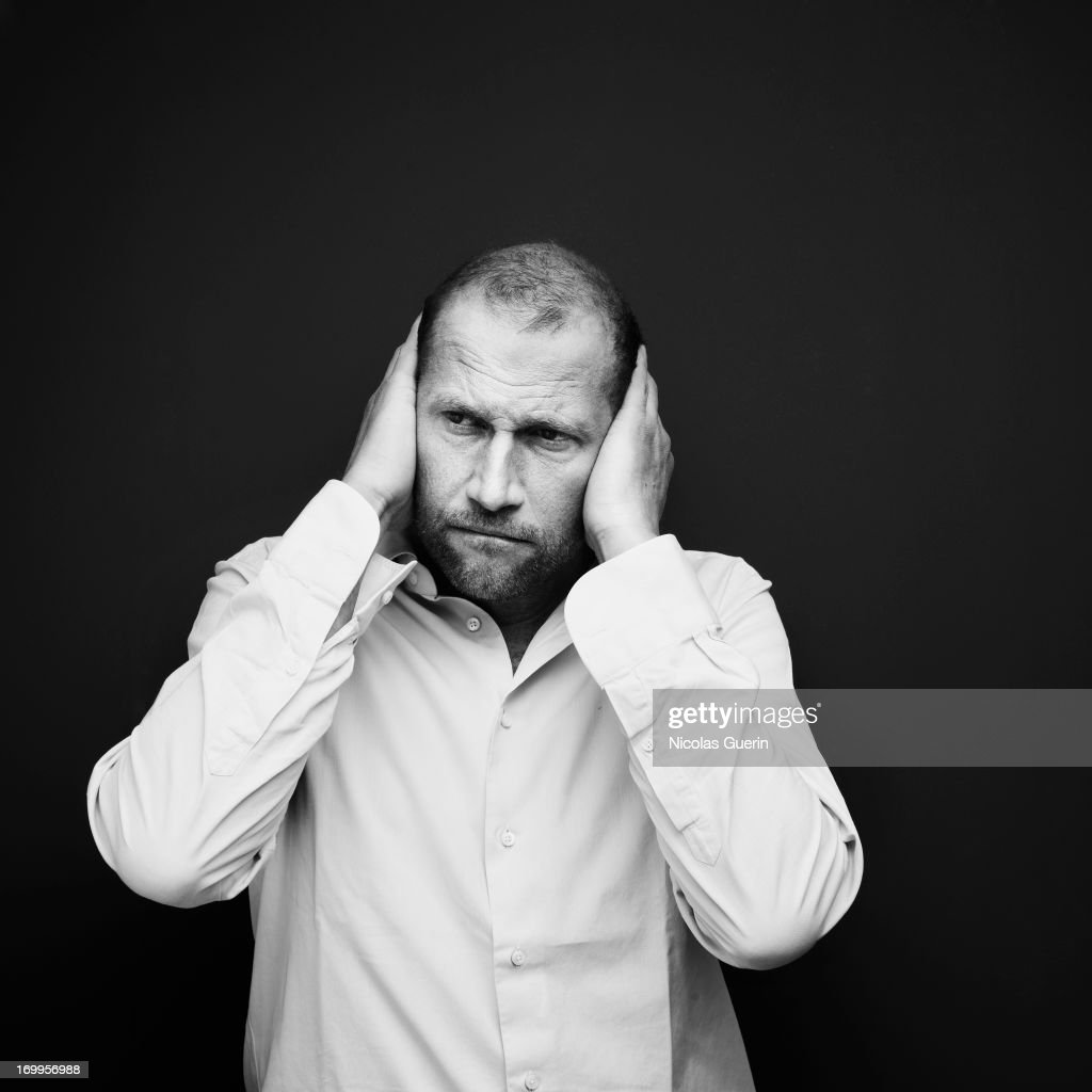 Actor Francois Damiens is photographed for Self Assignment on May 20, 2013 in Cannes, France.
