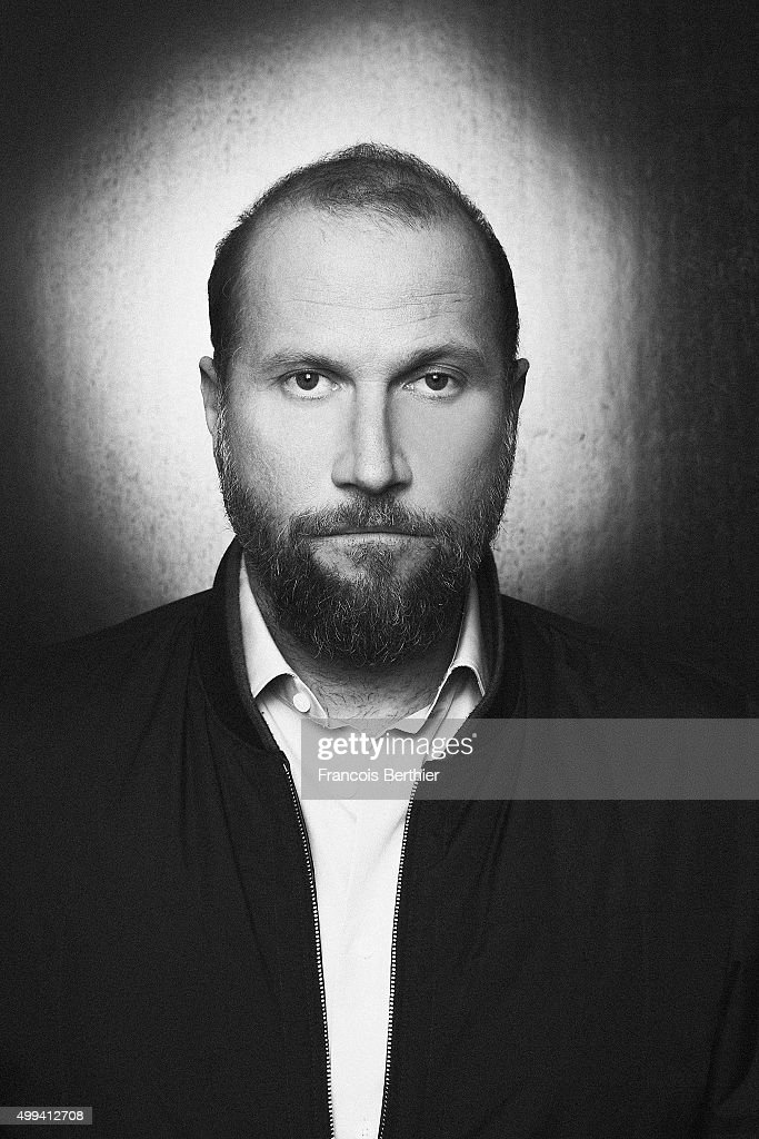 Actor Francois Damiens is photographed for Self Assignment on October 31, 2015 in Paris, France.