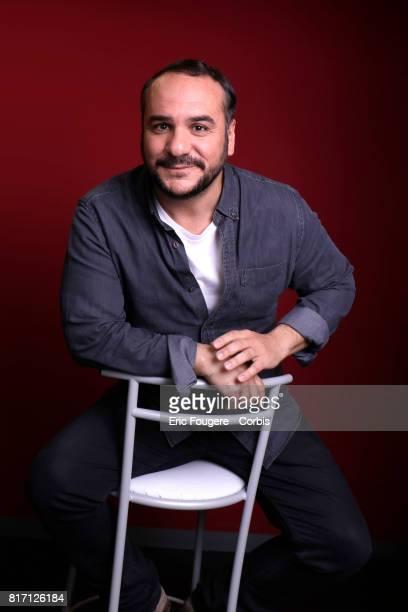Actor FrancoisXavier Demaison poses during a portrait session in Paris France on
