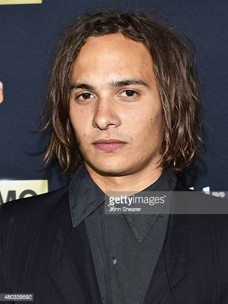 Actor Frank Dillane attends AMC ET And Tumblr's 'Fear The Walking Dead' Event At ComicCon 2015 on July 10 2015 in San Diego California