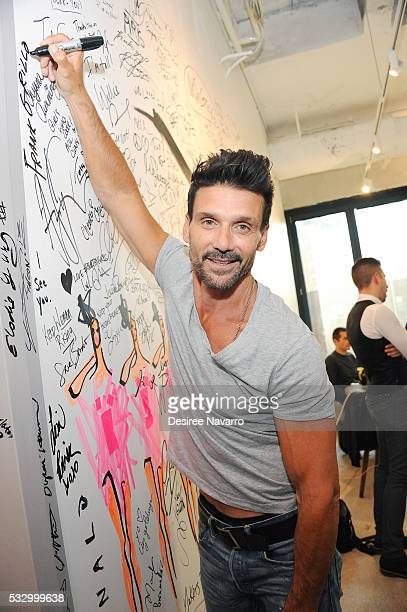 Actor Frank Grillo attends AOL Build Speaker Series to disuss 'Kingdom' on May 19 2016 in New York New York